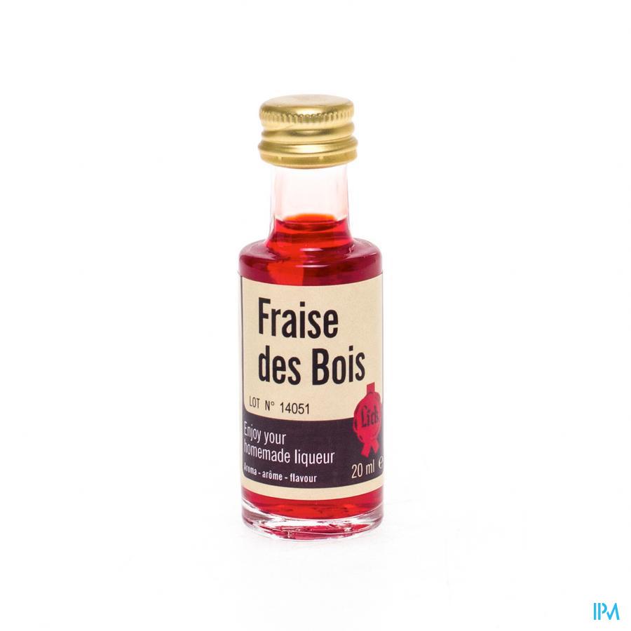 Lick Fraise Des Bois 20 ml