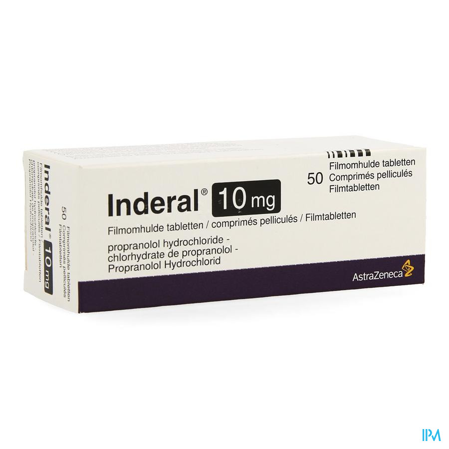 Inderal Tabletten 50x10 mg