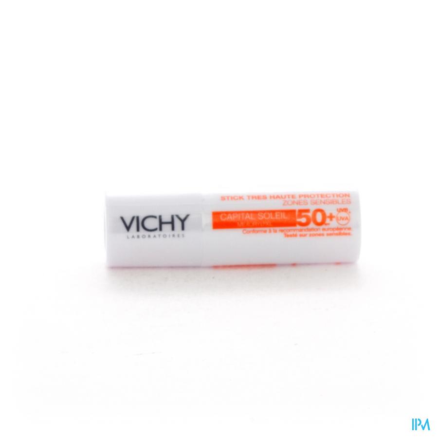 Vichy Cap Sol Ip50+ Stick Zones Sens 9g