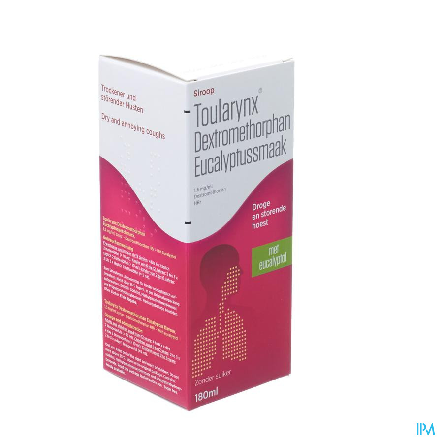 Toularynx Dextromethorphan Eucalyptus 180 ml