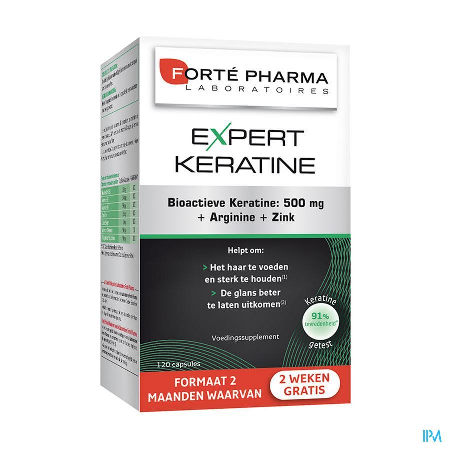 Expert Keratine Caps 120 (2maand-2weken Gratis)