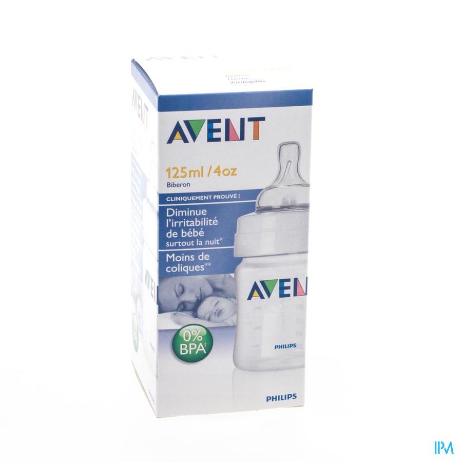 AVENT ZUIGFLES BPA-VRIJ POLYPROPYL.125ML