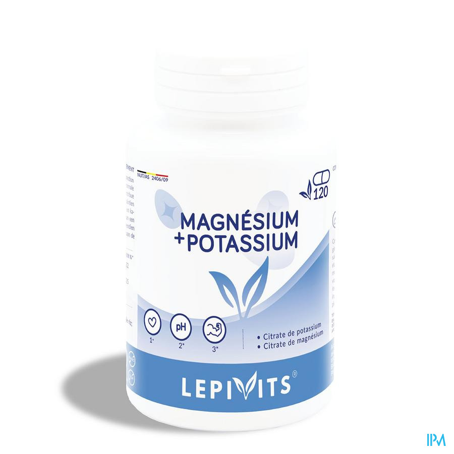 Lepivits Magnesium-kalium Gel 120