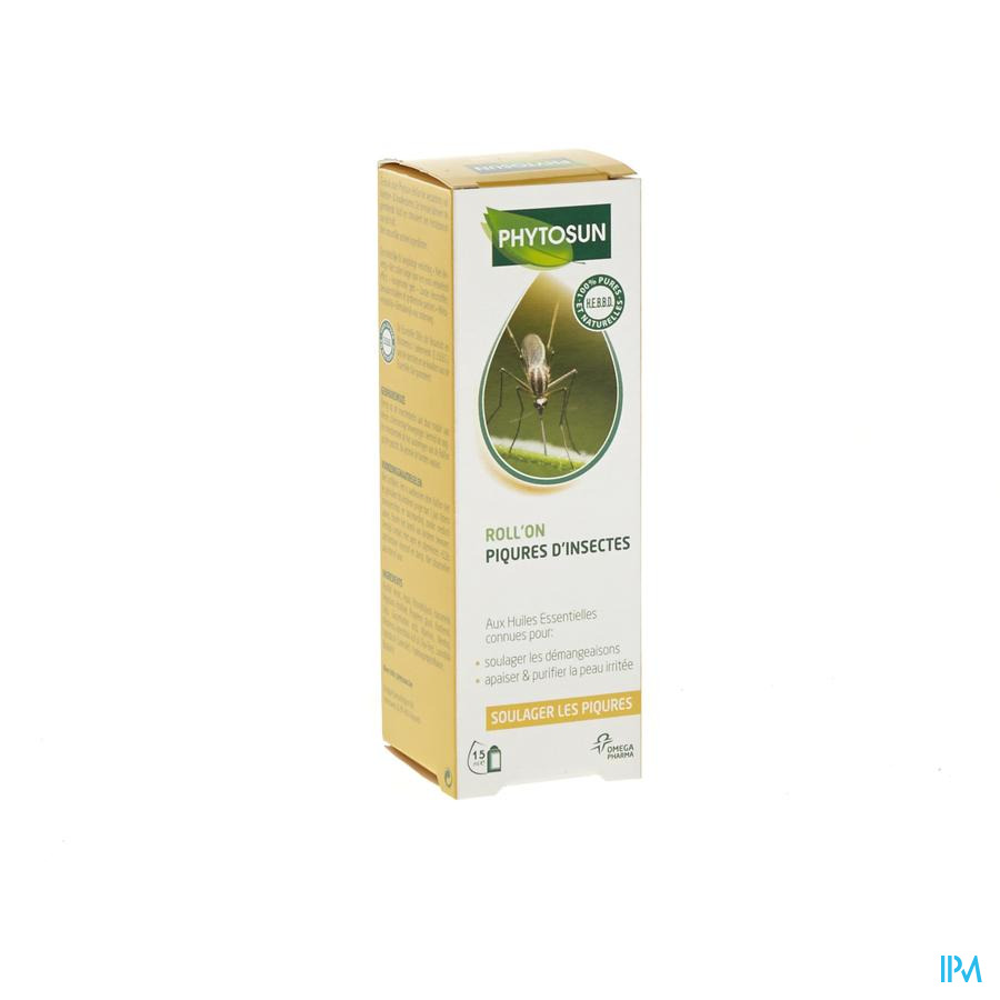 Phytosun Piqures Inssectes Roll'on 15ml