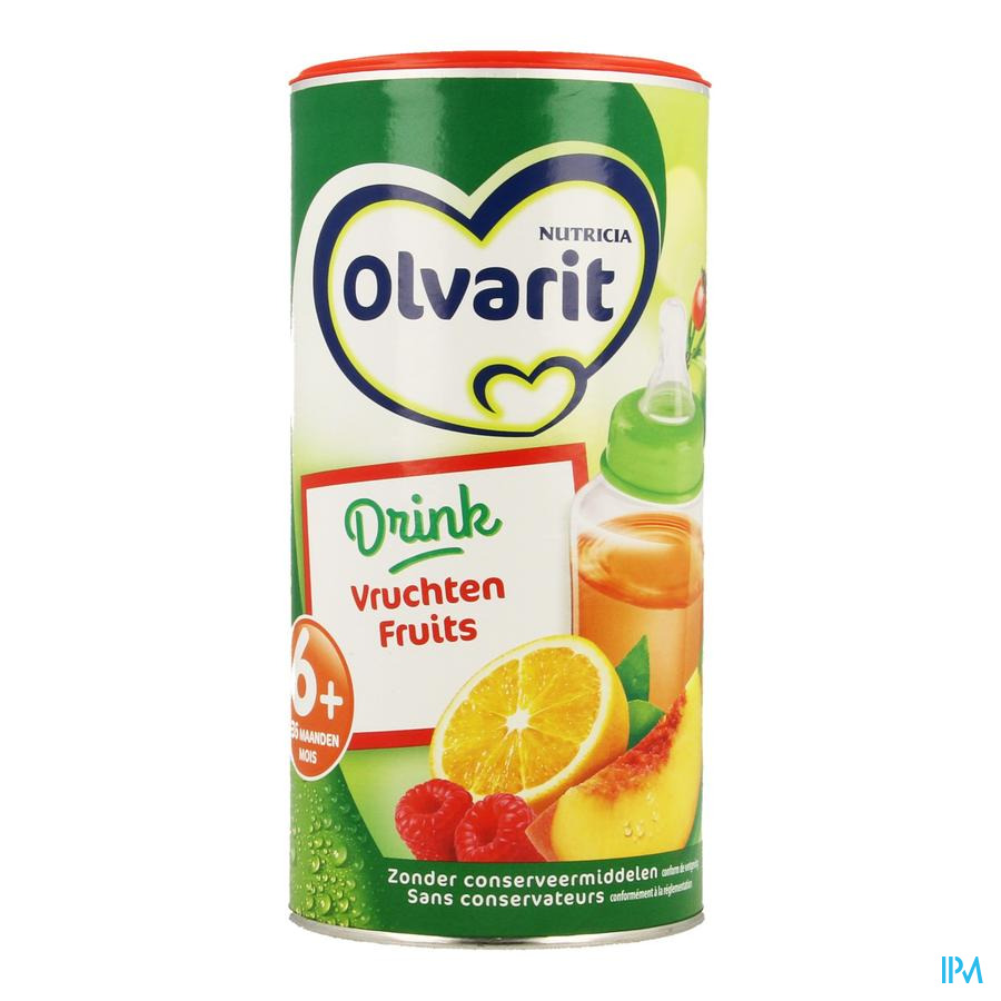 Olvarit Drink Vruchten Thee Korrels 200g