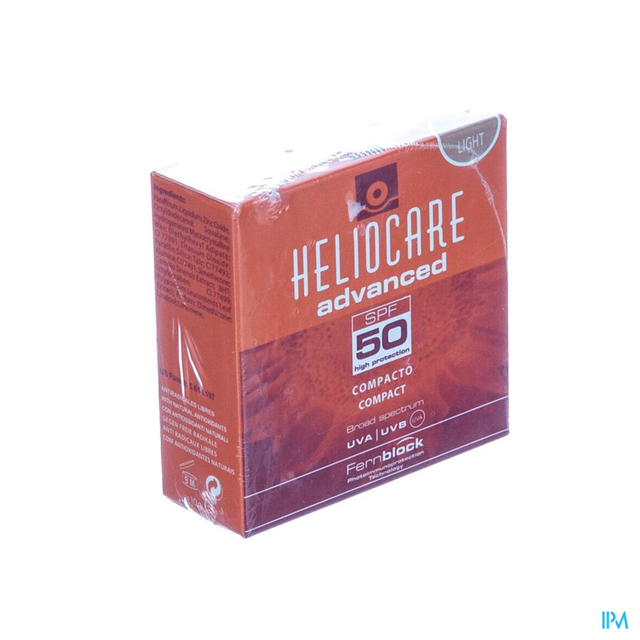 Heliocare Compact Oil-free Ip50 Light 10g