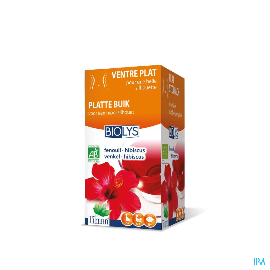 Biolys Fenouil-hibiscus Bio Tea-bags 20