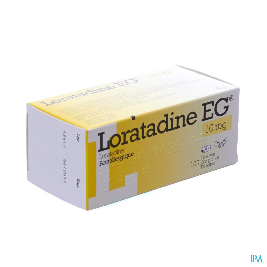 Loratadine EG 10 mg Tabletten 100 X 10 mg