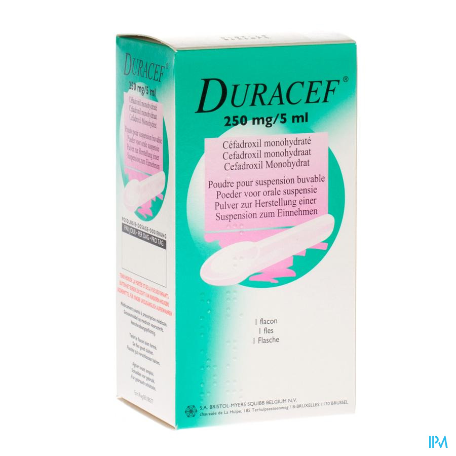 Duracef Susp Or 1x80ml 250mg/5ml