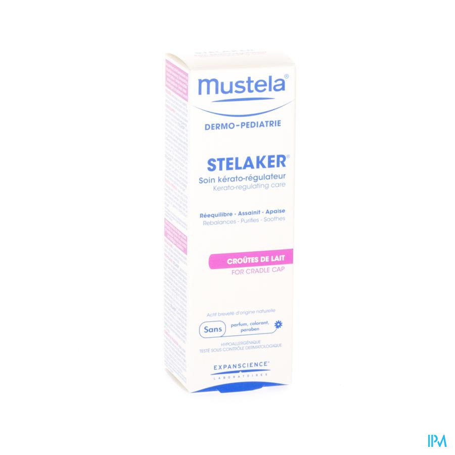 MUSTELA DP STELAKER KERATO-REGUL.VERZORG. 40ML -1€