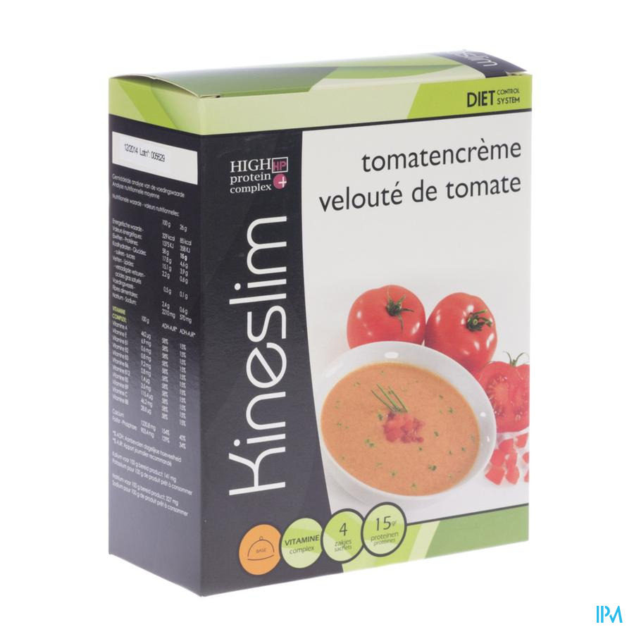 Kineslim Veloute Tomate Pdr Sach 4