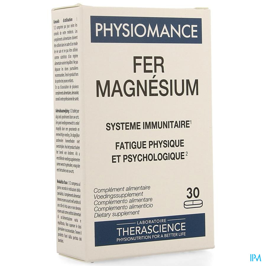 Fer Magnesium Comp 30 Physiomance Phy273