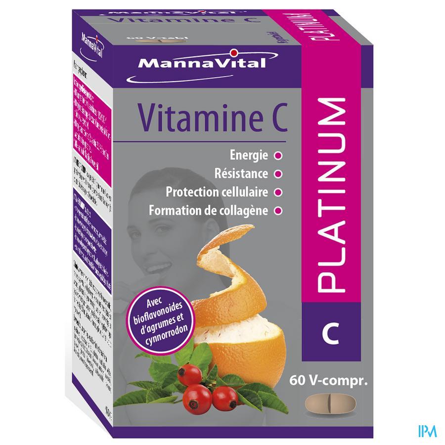 Mannavital Vitamine C Platinum 60V-CAPS 60