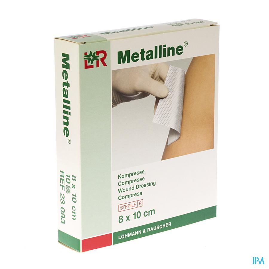 Metalline Comp Ster 8x10 10p