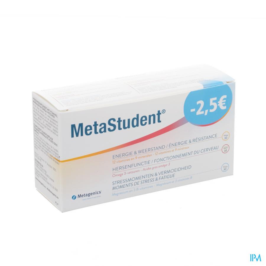 Metastudent 3 Product.tabl 2x30+caps 30 Promo