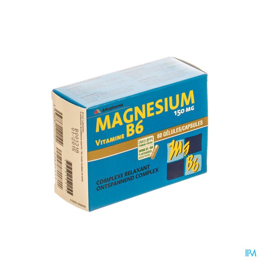 Magnesium B6 Blister Caps 2x30