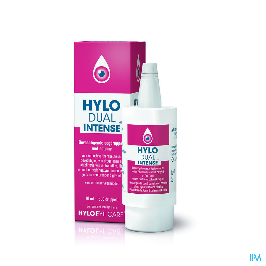 Hylo-dual Intense Oogdruppels 10ml