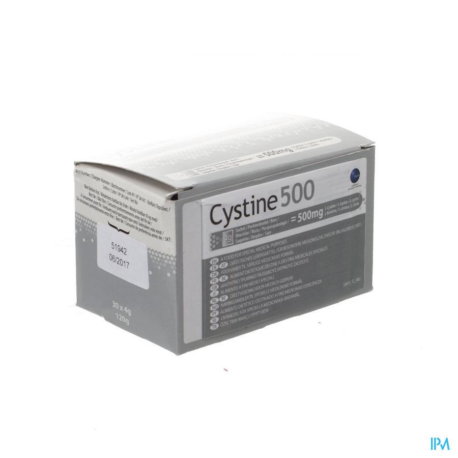 Cystine 500 Pdr Zakje 30x4g