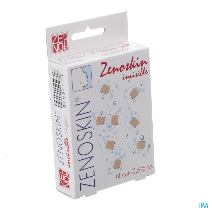 Zenoskin Invisible Spots 22x26mm 14