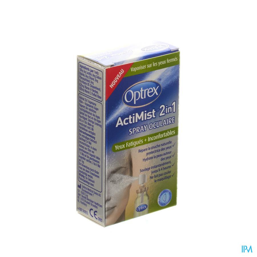 Optrex Actimist Oogspray Verm.-pijnlijke Ogen 10ml