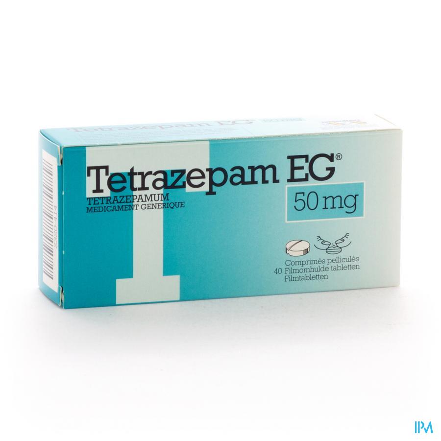 Tetrazepam Eg 50mg Comp Pell 40 X 50mg