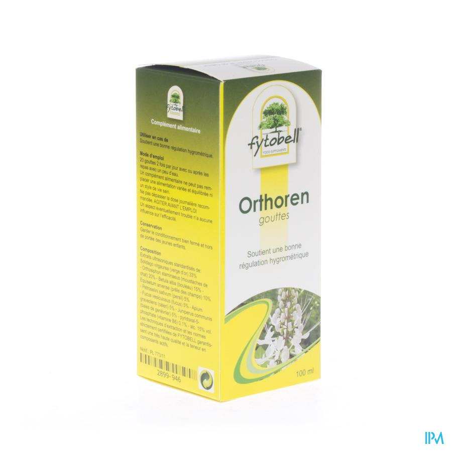 Fytobell Orthoren Nf Gutt 100ml