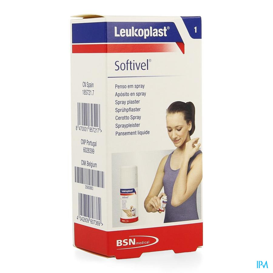 Leukoplast Softivel Spray 30ml 7929300