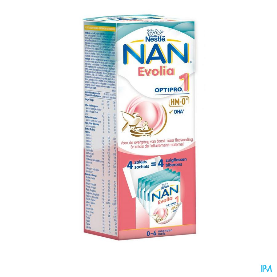 Nan Optipro Evolia 1 4x26g
