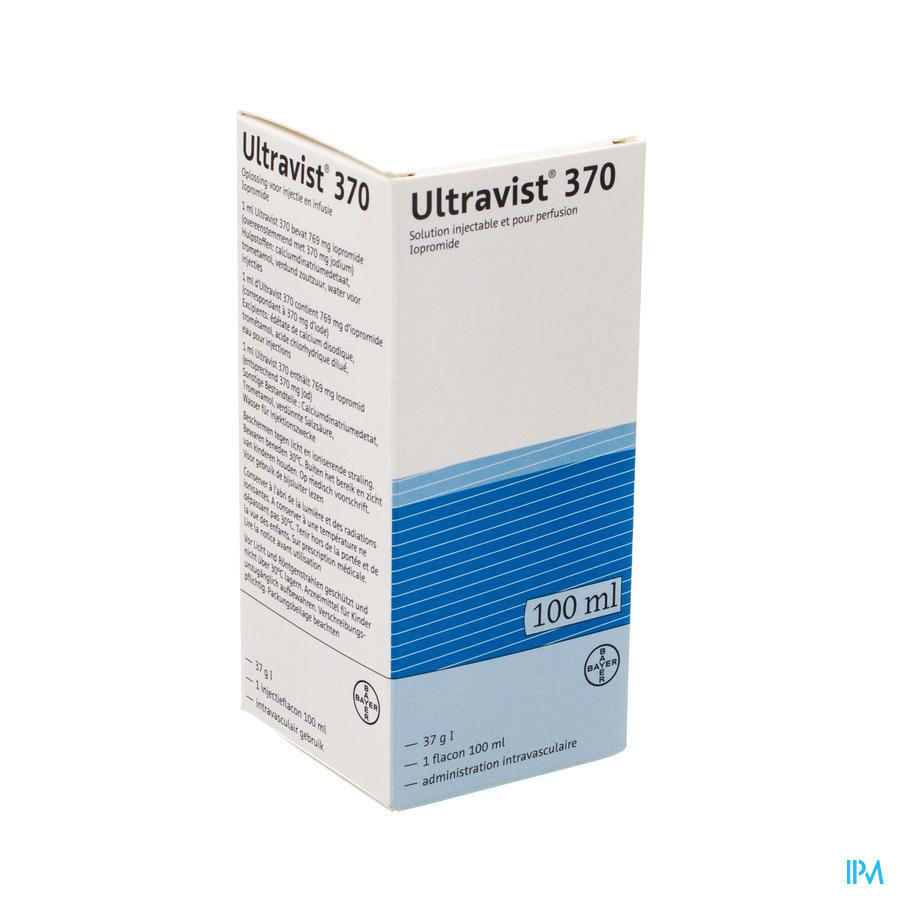 Ultravist 370 Fl Inj 1 X 100ml
