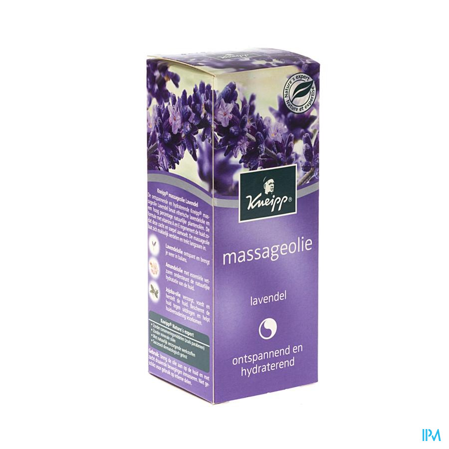 Kneipp Massage Olie Lavendel 100ml