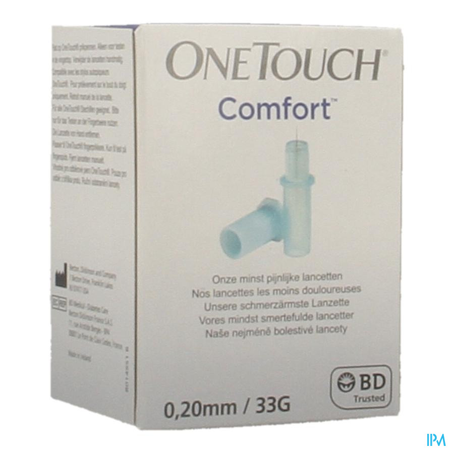 Onetouch Lancetten Comfort 100