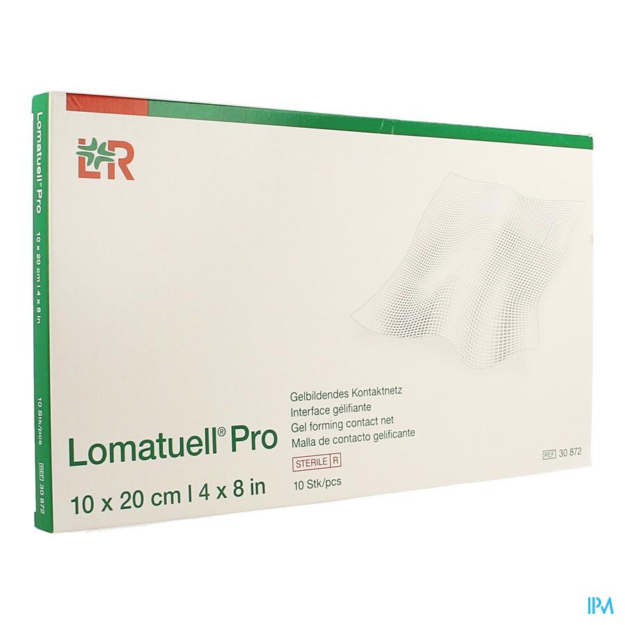 Lomatuell Pro Kompres Ster 10x20cm 10 30872