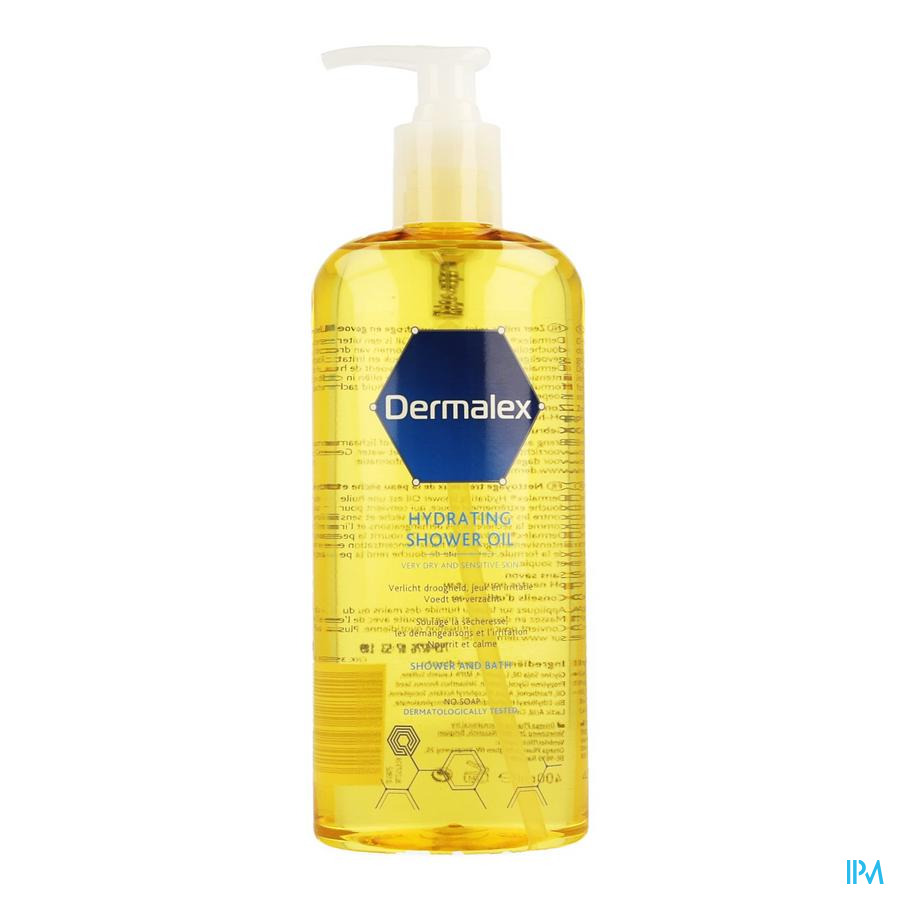 Dermalex Hydrating Shower Oil 400ml