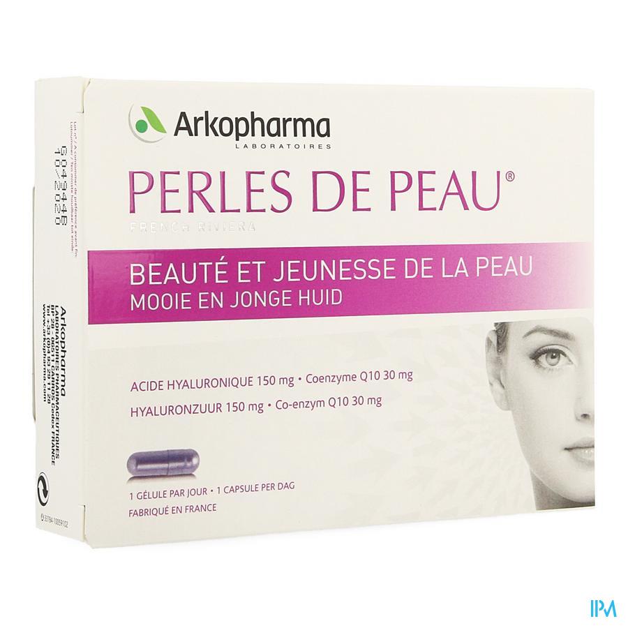 Perles De Peau Acide Hyaluron.+coenzyme Q10 Caps30