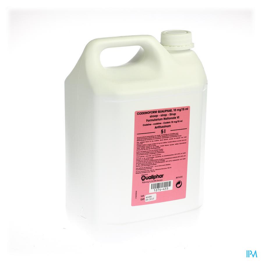 Codeinoform Sirop Nf 5l Qualiph