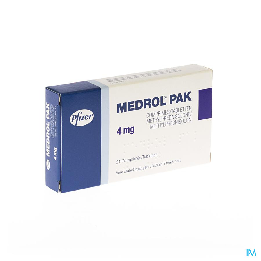 Medrol Pak Comp 21x4mg