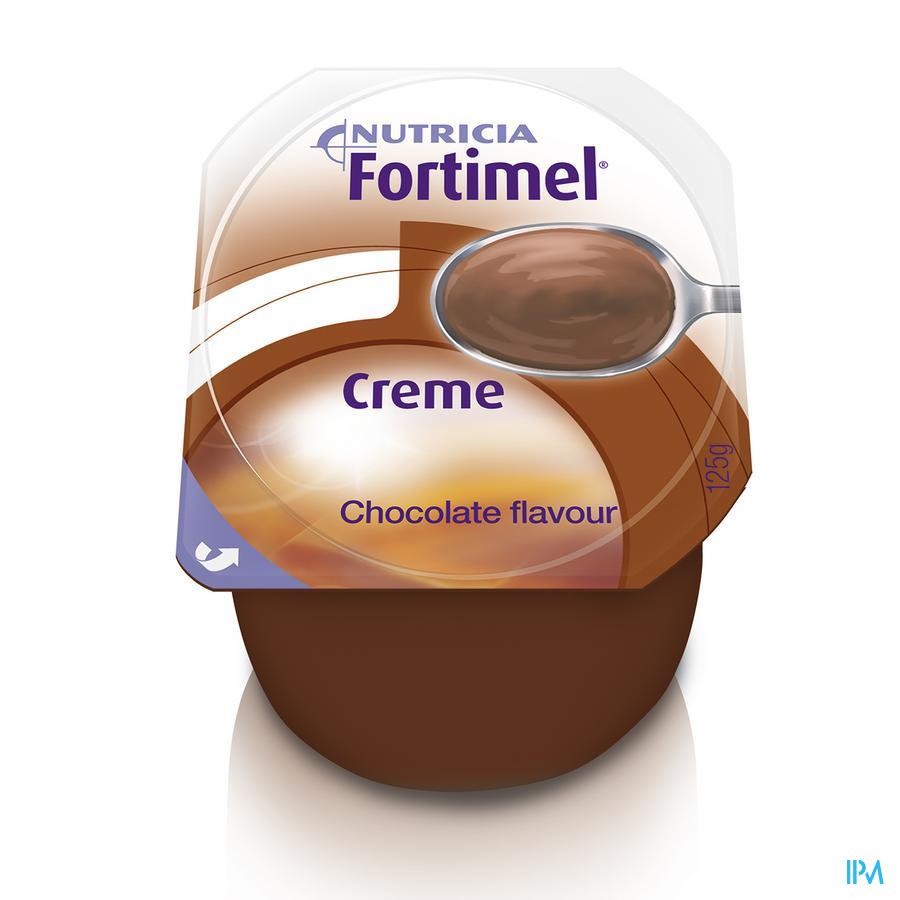 FORTIMEL CREME CHOCOLADE     4X125G