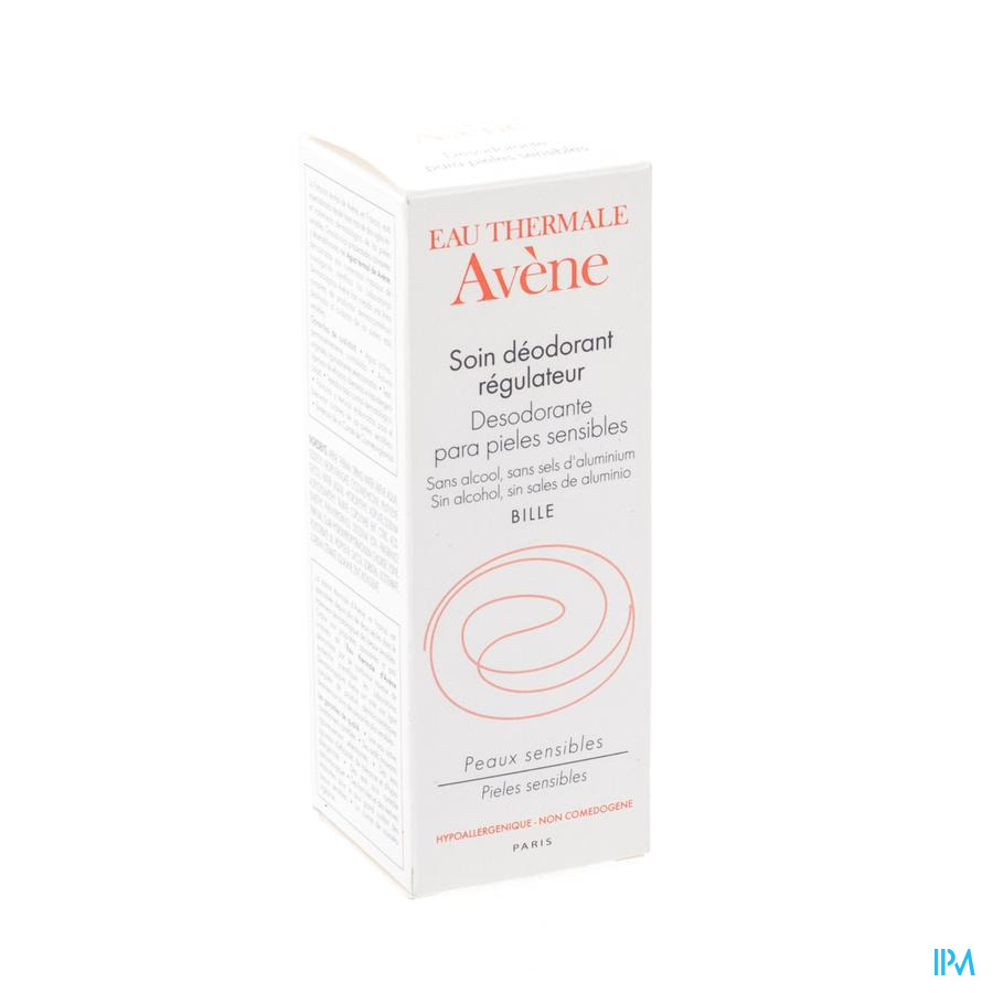 Avene Deodorant Regulerend Roll On 50ml