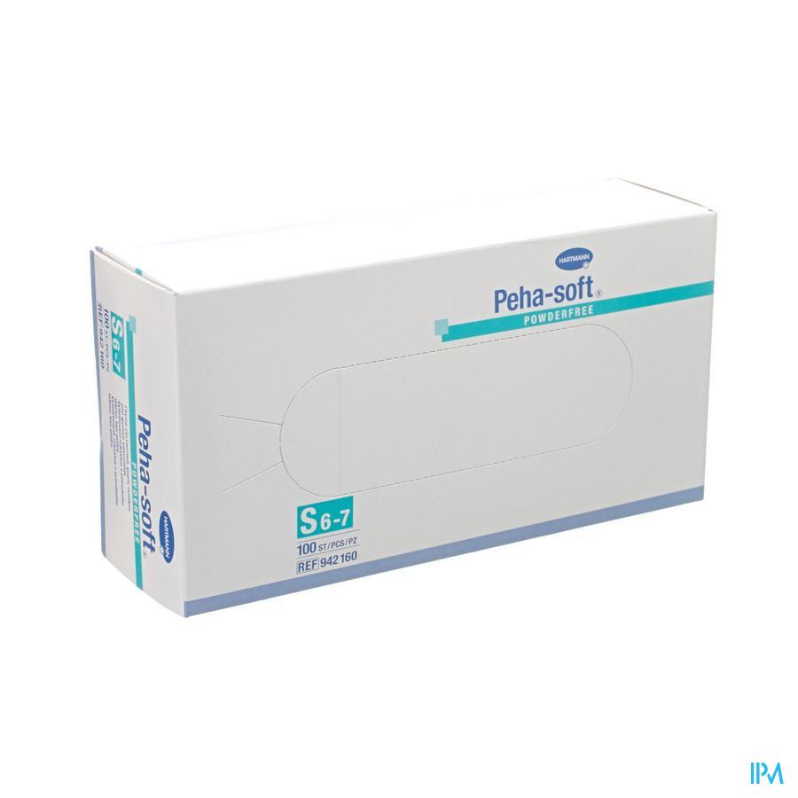 PEHA SOFT HANDSCHOEN LATEX N/ST -PDR S 100 9421605