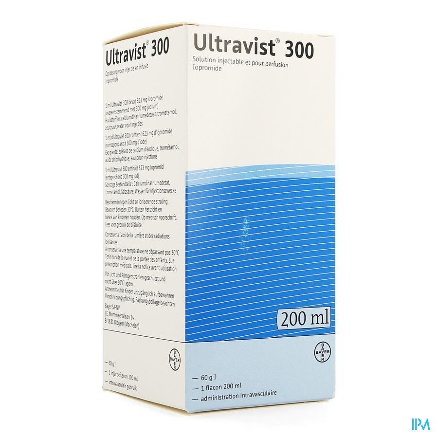 Ultravist 300 Fl Inj 1 X 200ml