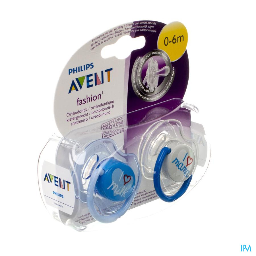 Philips Avent Fopsp Fashion Dubbel 0- 6m 2 Scf172/50