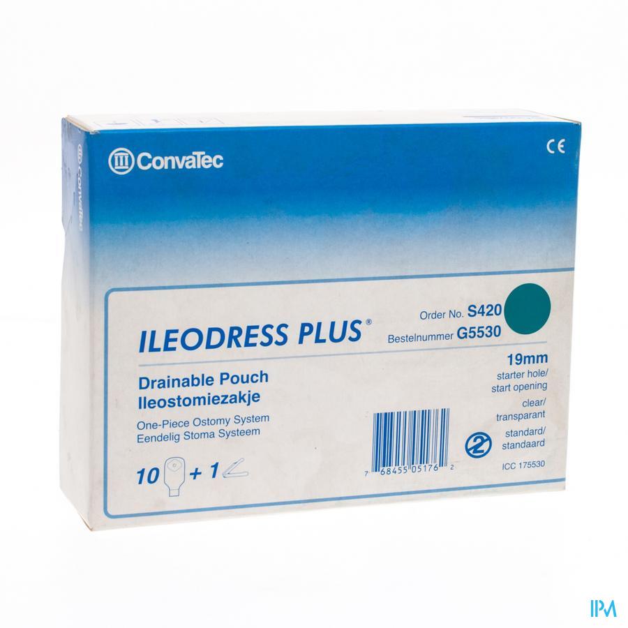 Ileodress Plus O/z Transp 19-60mm 10 175530