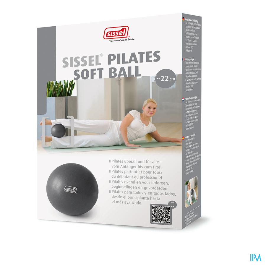 Sissel Pilates Ball Metalic 22cm Ballon Exercises