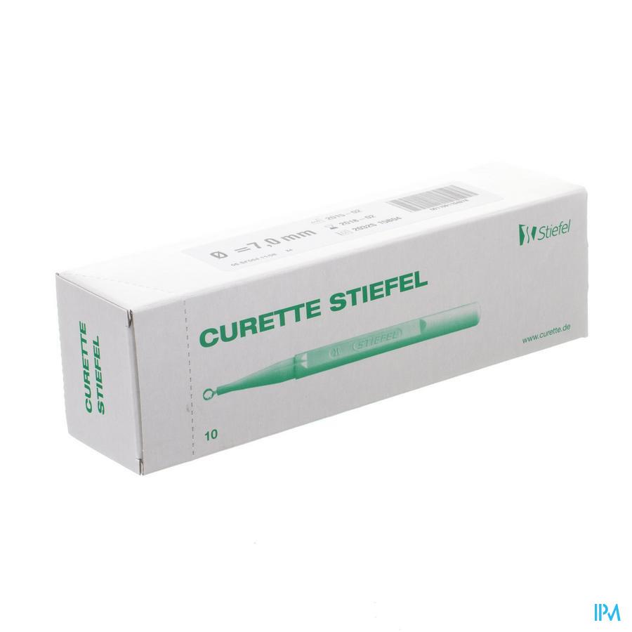 Curette Stiefel 7mm 10