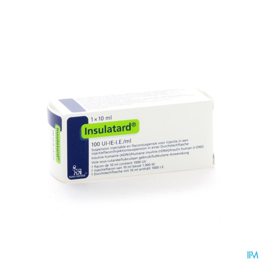 Insulatard 100 Iu/ml 1 X 10ml