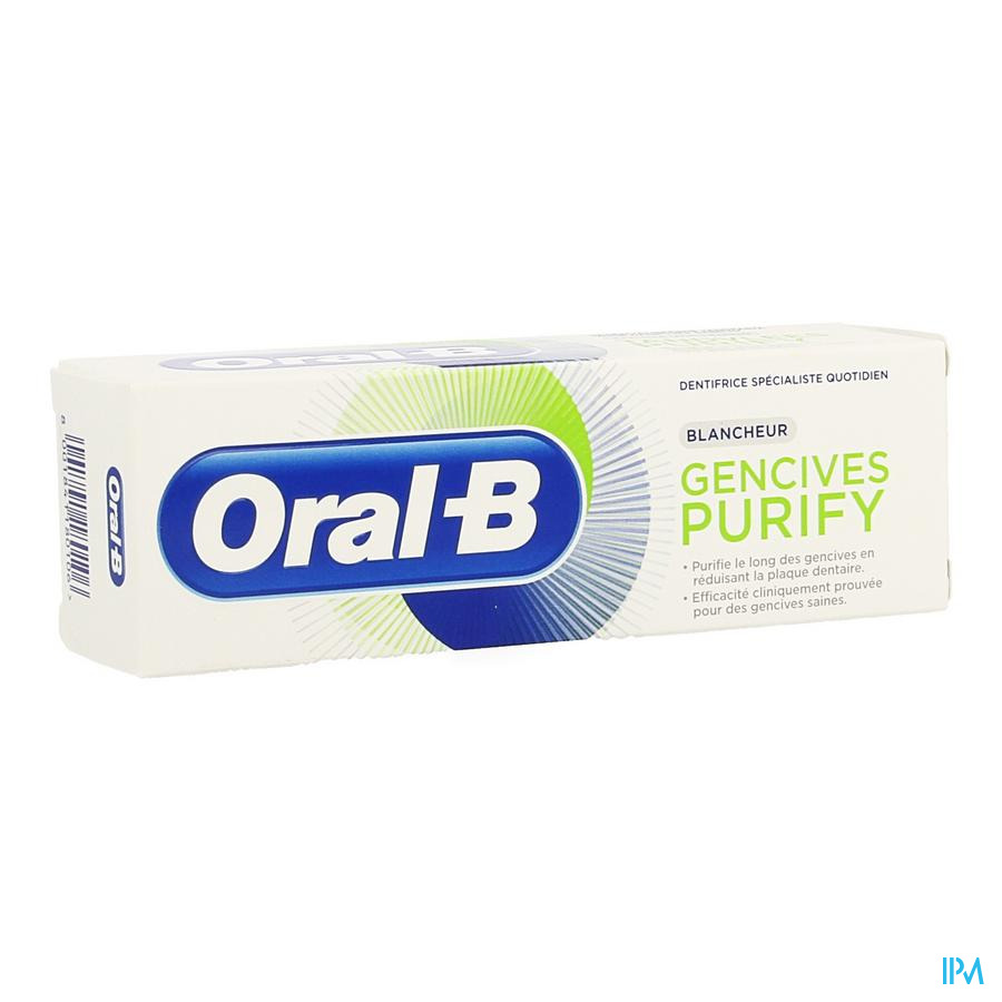 Oral B Tandpasta Purify Intense Reiniging 75ml