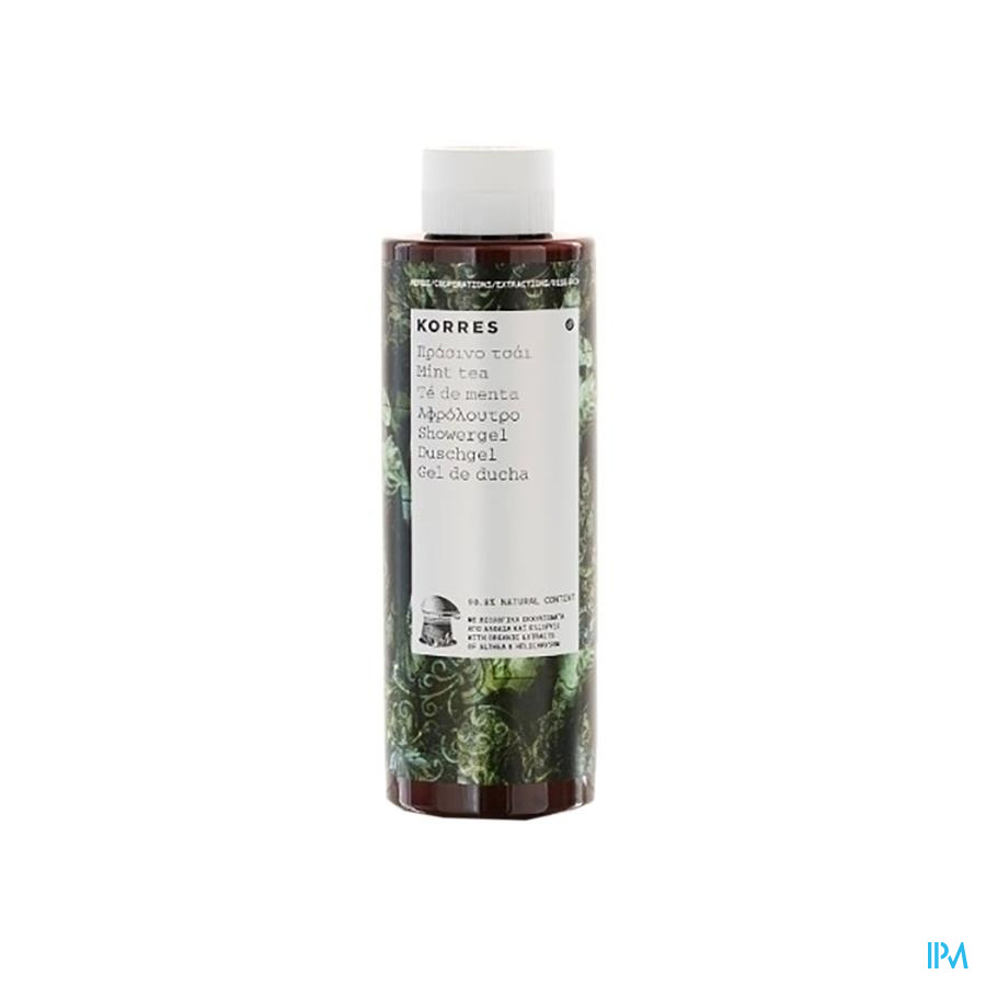 Korres Kb Douchegel Mint Tea 250ml
