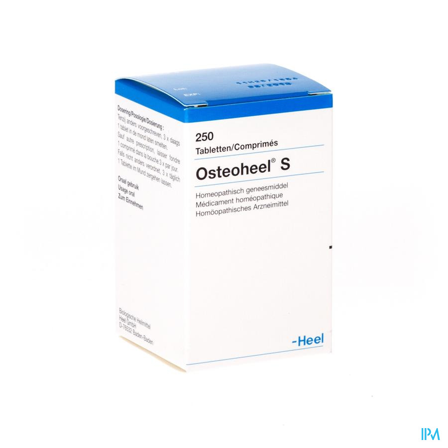 Osteoheel S Comprimes 250  -  Heel-Belgium