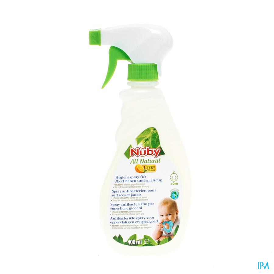 Nuby Citroganix Spray A/bact. 400ml