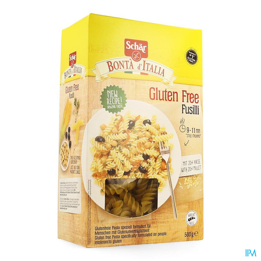 Schar Pasta Fusilli 500g 6581